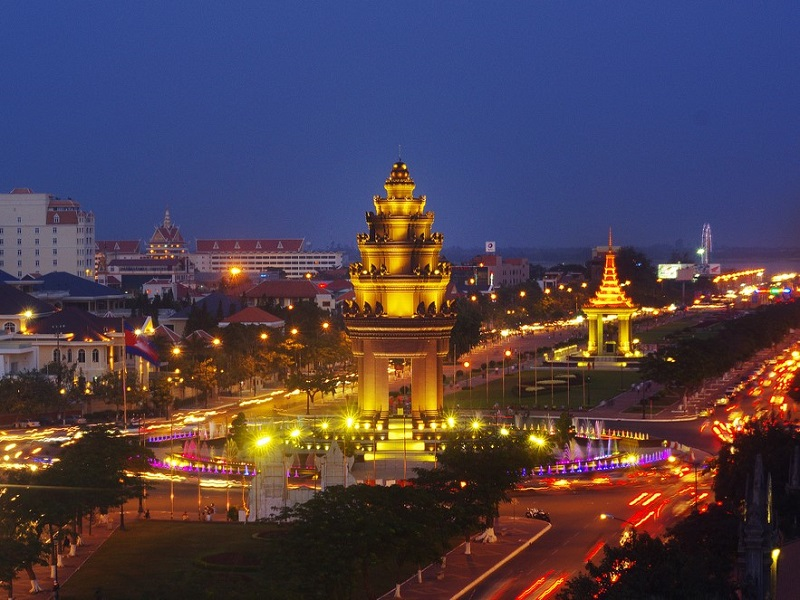 cities and towns of Cambodia