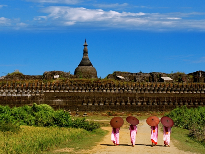 Don't miss the unique Mrauk U temple on your Myanmar Holiday